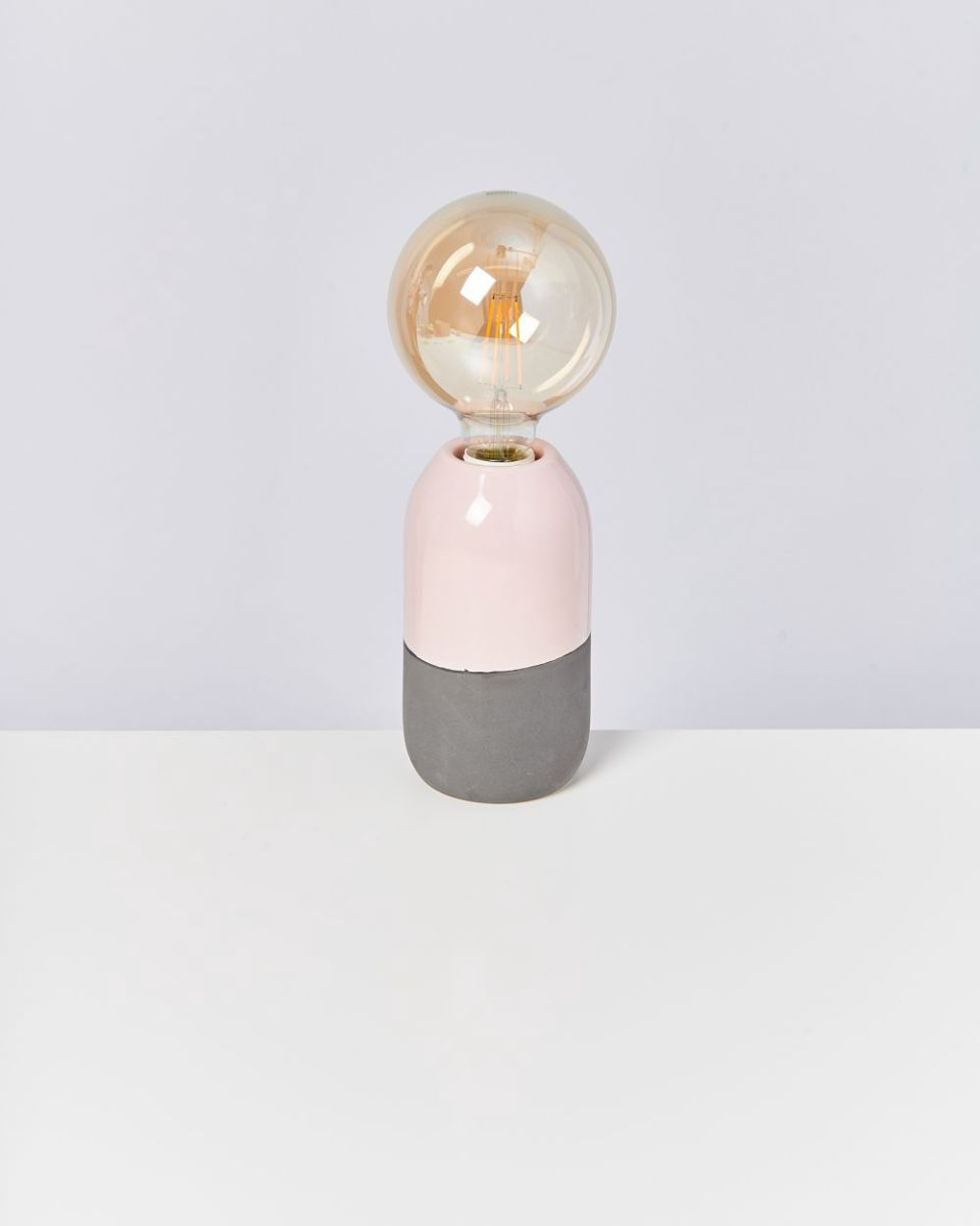FAROL - Lamp rose grey