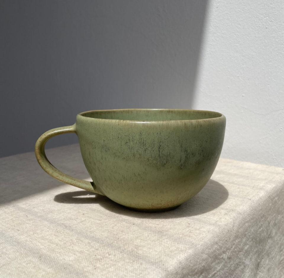 Keramiktasse Esha (grün)