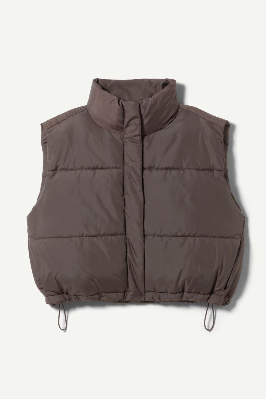 Cut Puffer Vest