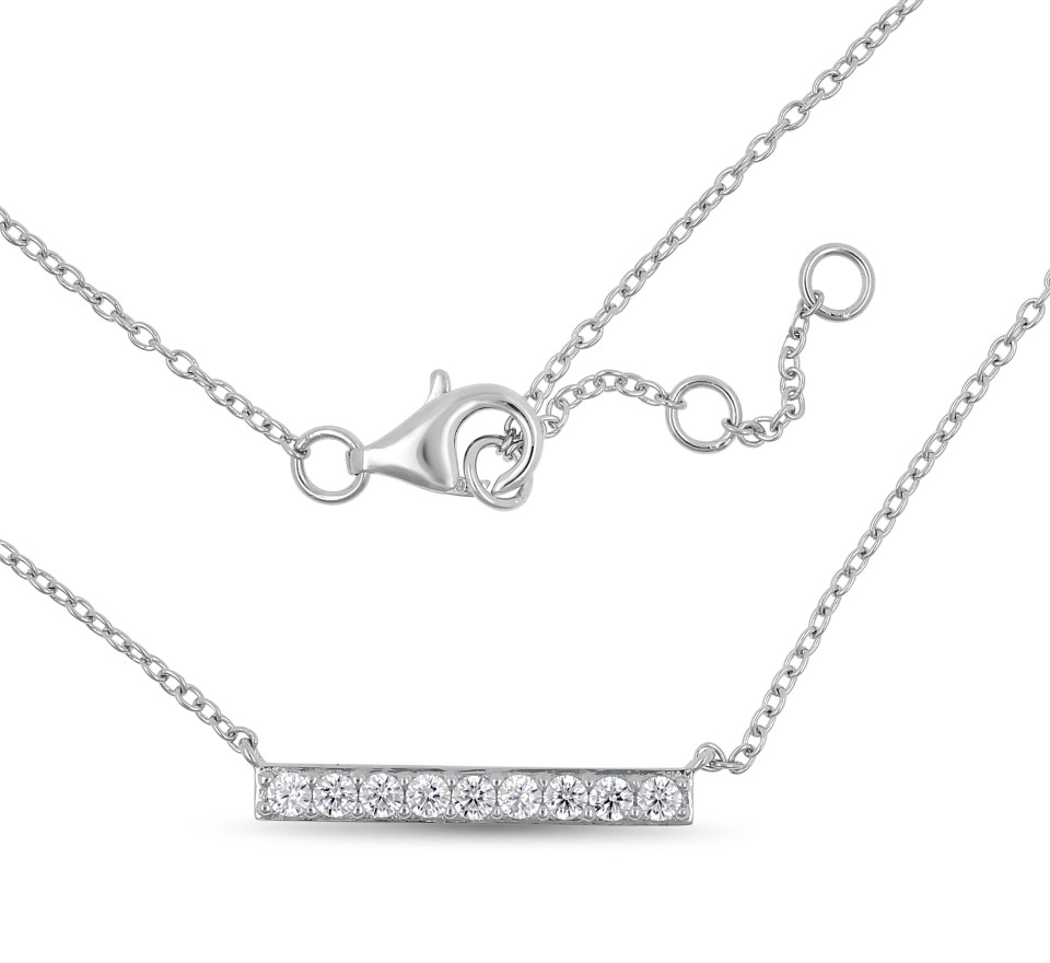 Necklace AIMEE - silver