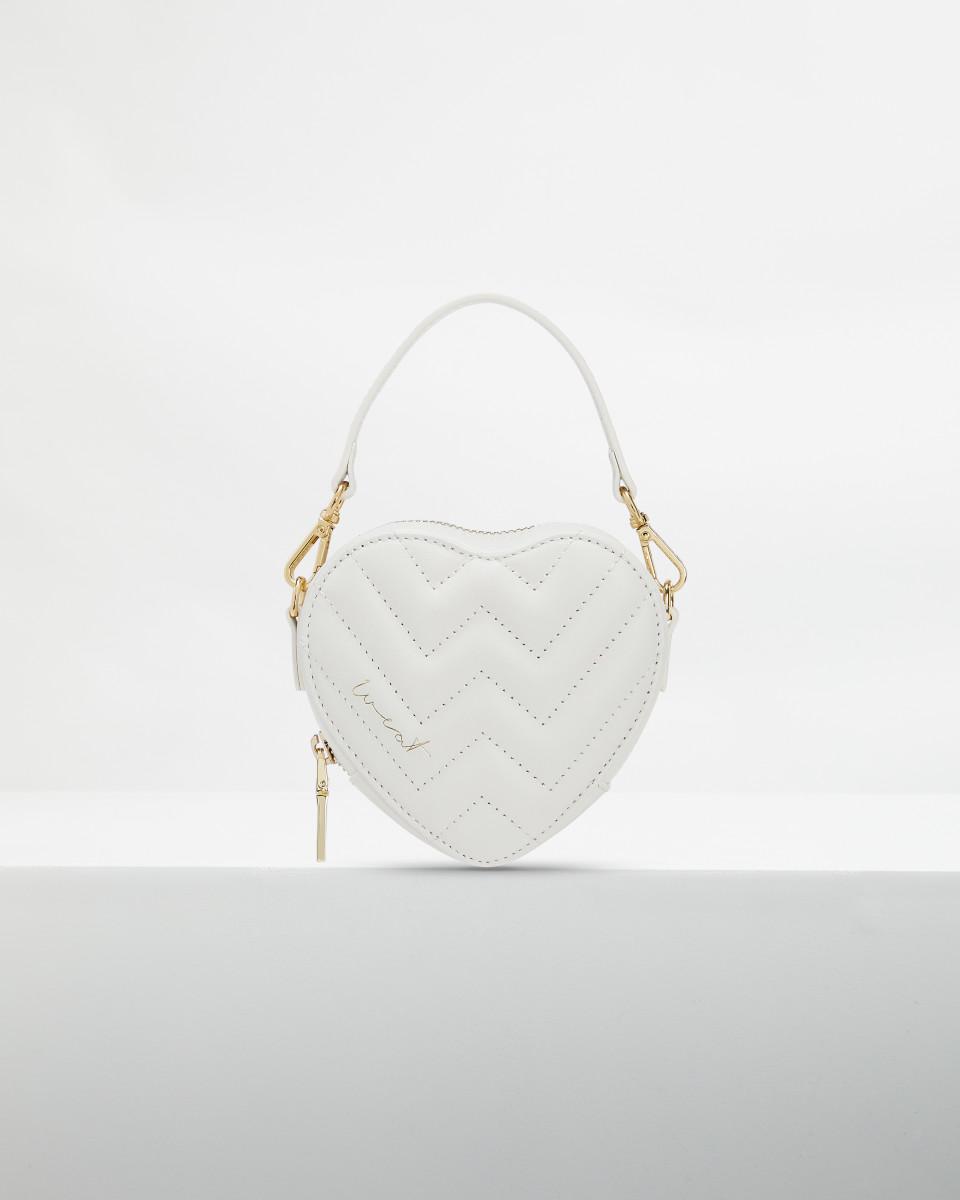Mini Heart Bag Coconut