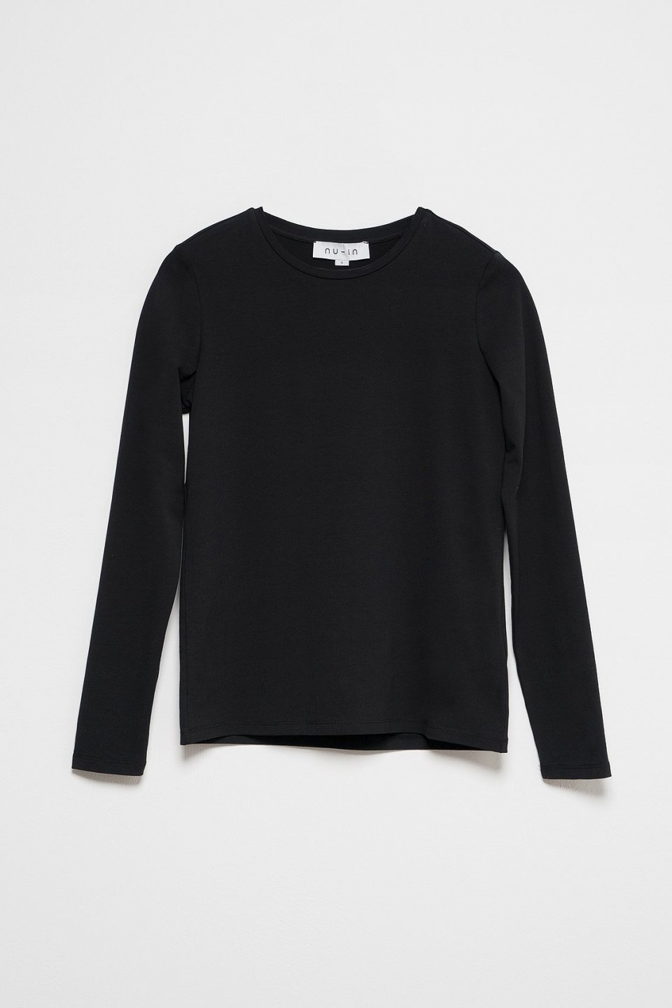 100% Organic Crew Neck Long Sleeve T-shirt