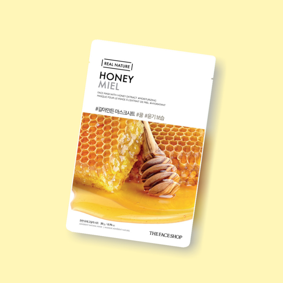 THE FACE SHOP REAL NATURE Face Mask Honey