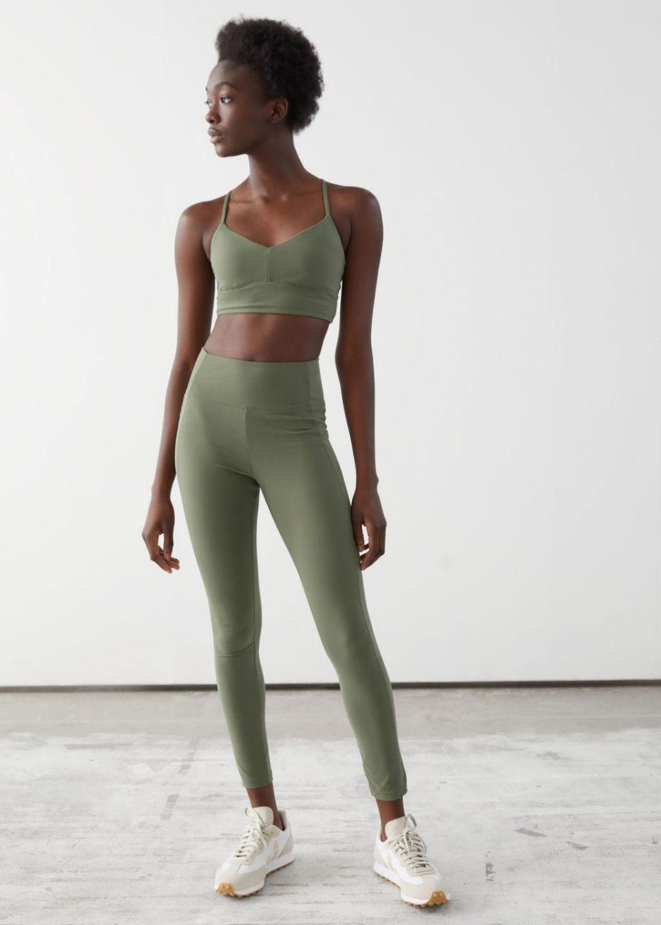 Quick-Dry Yoga Tights