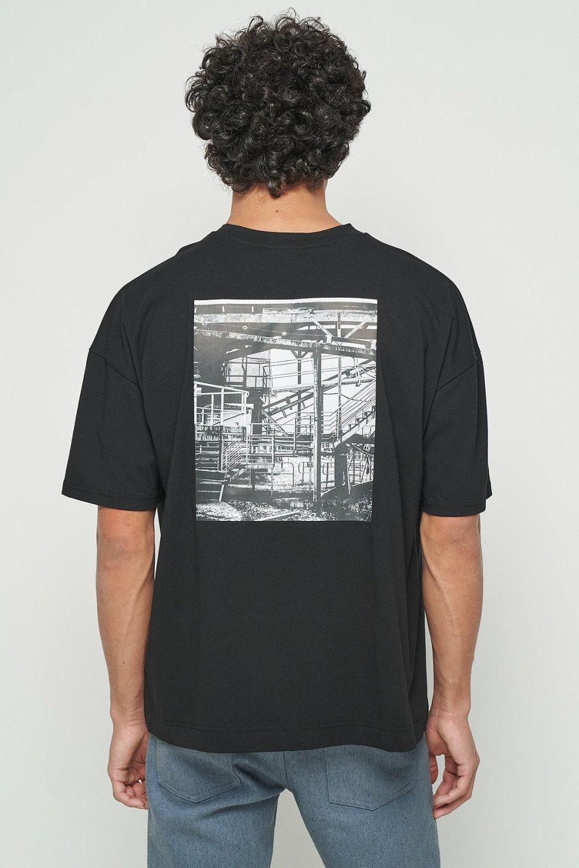 Construction Oversized T-shirt