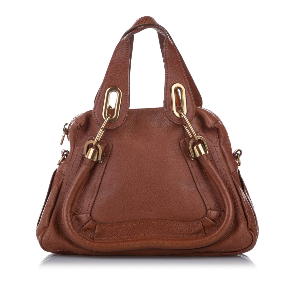 Small Paraty Leather Satchel