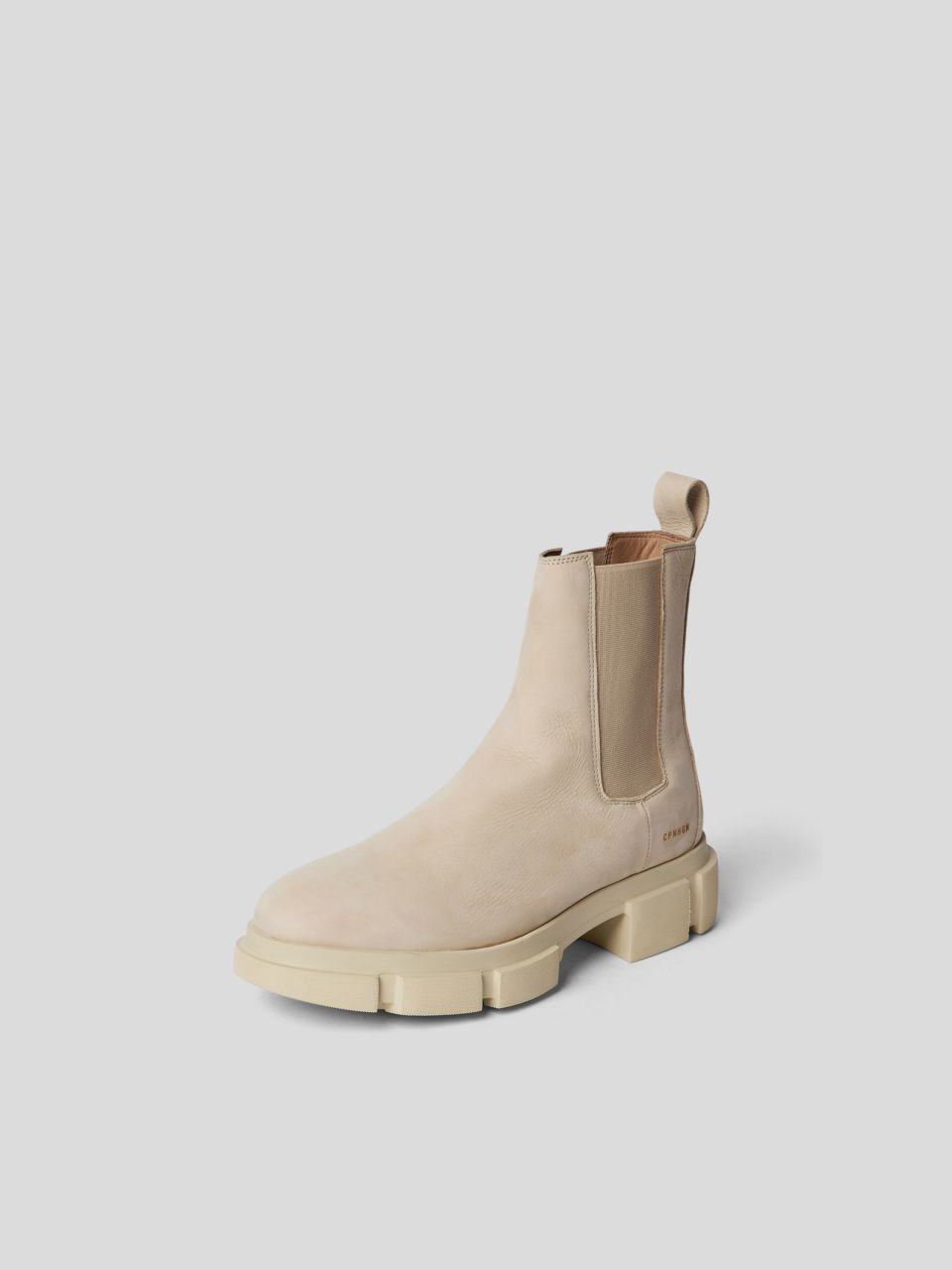 Chelsea Boots mit Label-Print