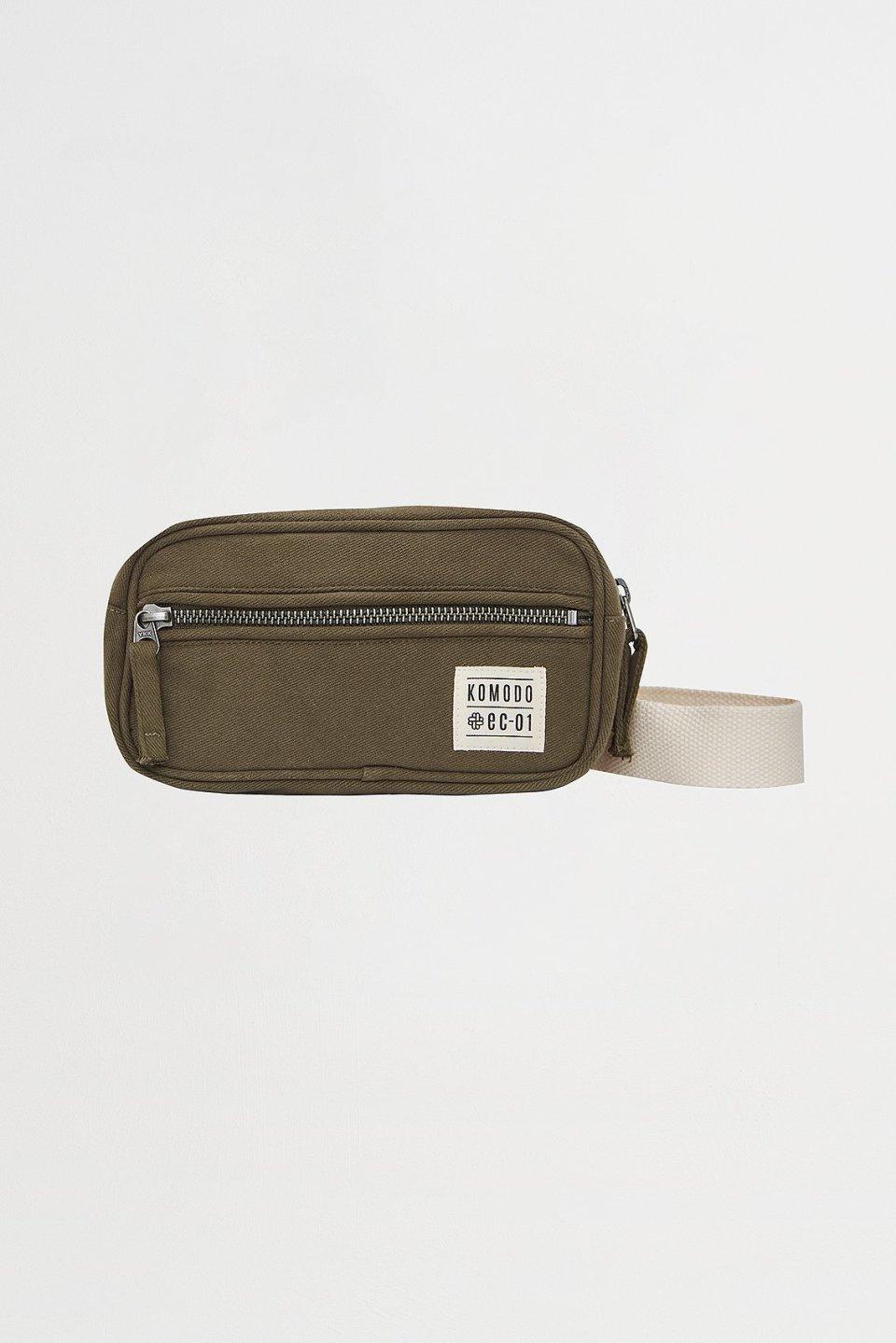 BLIMEY Tencel Linen Unisex Bumbag Khaki
