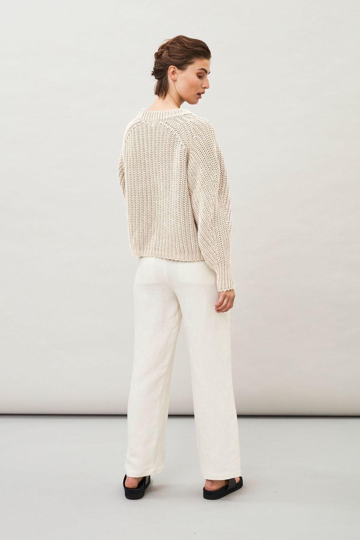 Lark Chunky Sweater - Off White