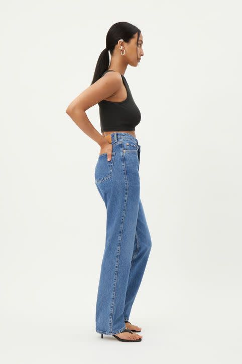 Skew High Crossover Jeans
