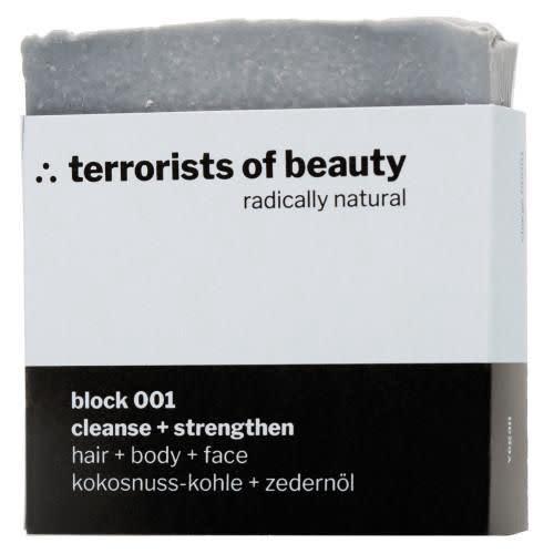Terrorists of Beauty  Block 001 Cleanse & Strengthen