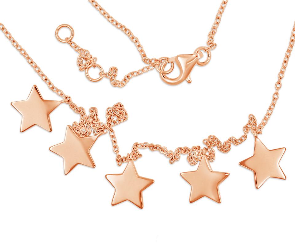 Necklace SCARLETT - rose gold