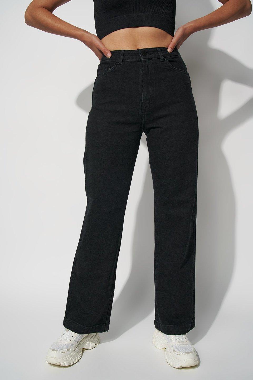 High Rise Wide Leg Jeans RA103