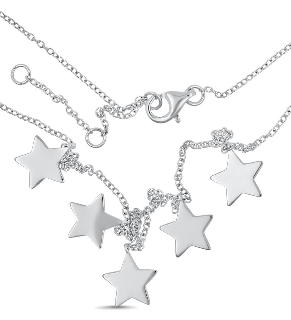 Necklace SCARLETT - silver