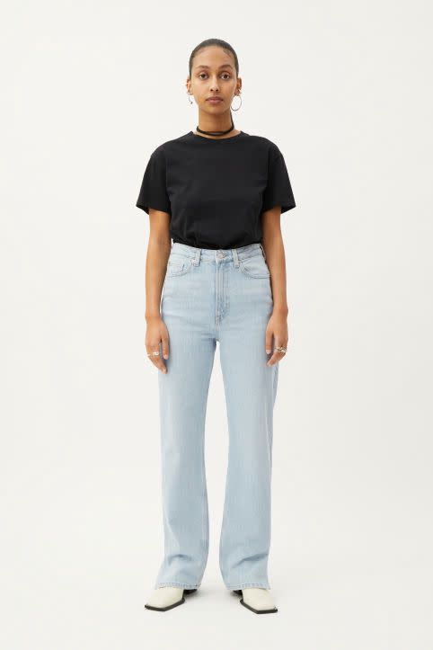 Rowe Split Jeans
