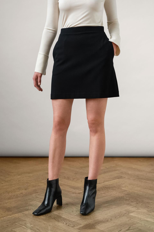 Elise Ecovero Skirt Black