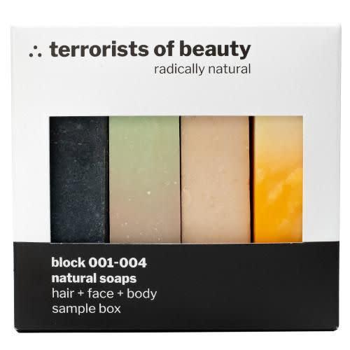 Terrorists of Beauty Sample Box - Block 001-004 / Probierset