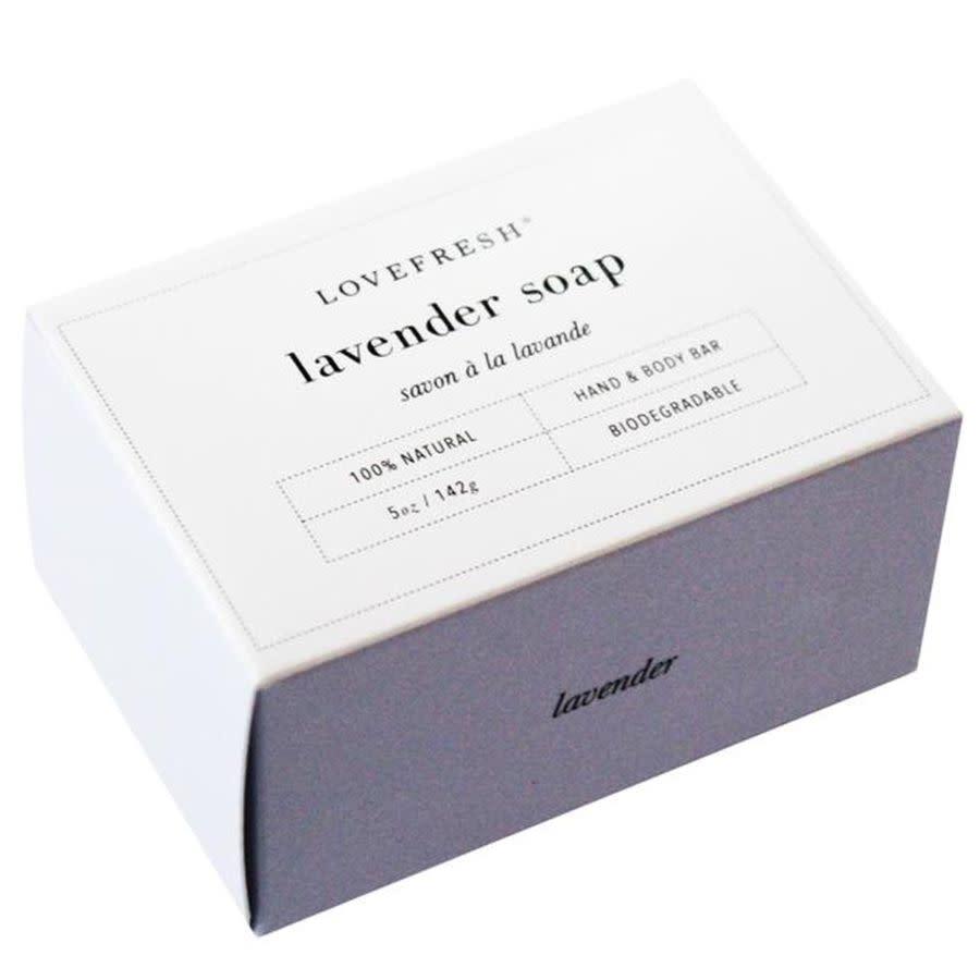 LOVEFRESH Lavender Soap / Lavendel Seife