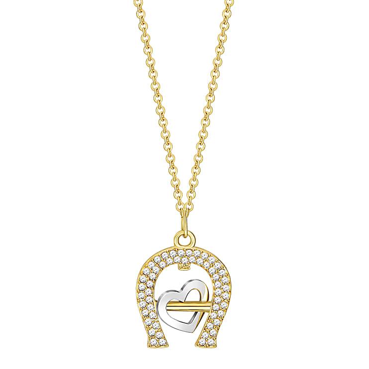 Aigner Damen Halskette Heart Ltd. Edition, in Multicolour