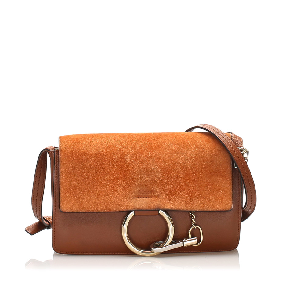 Faye Leather Crossbody Bag
