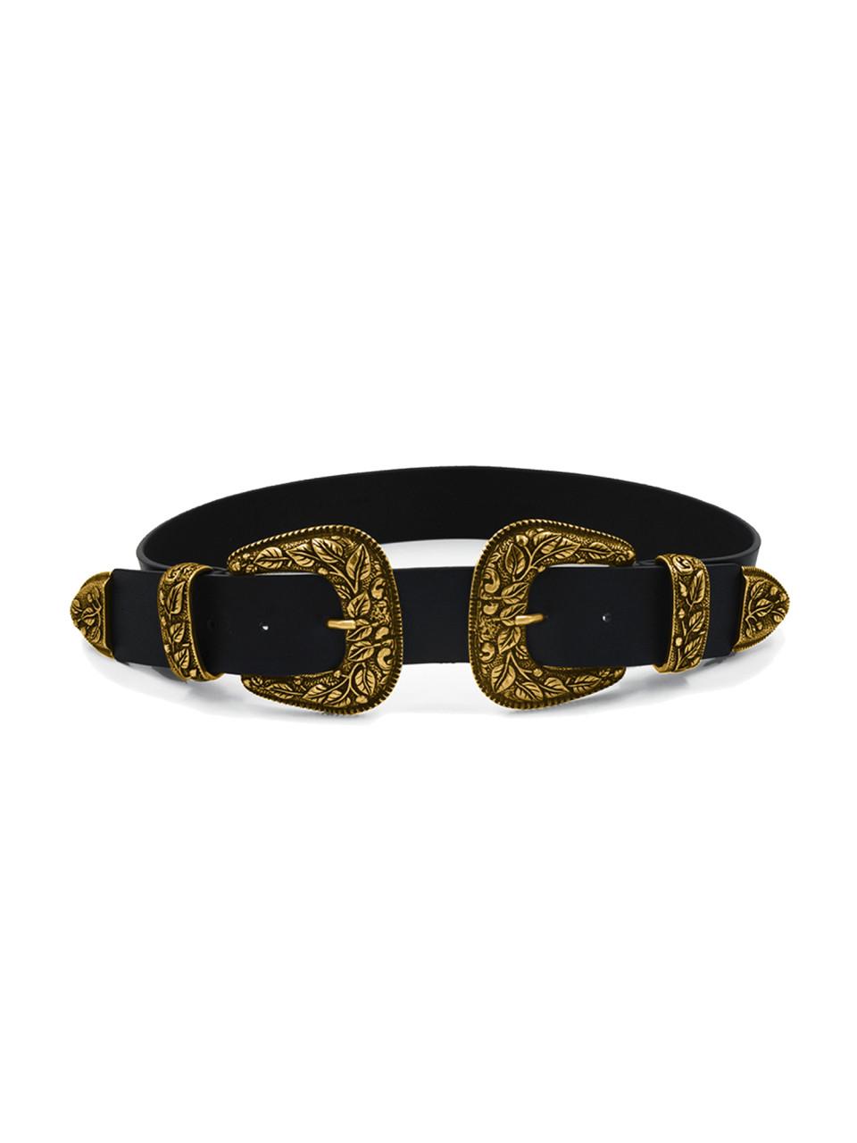 Vegan Belt Lia II Shiny Gold