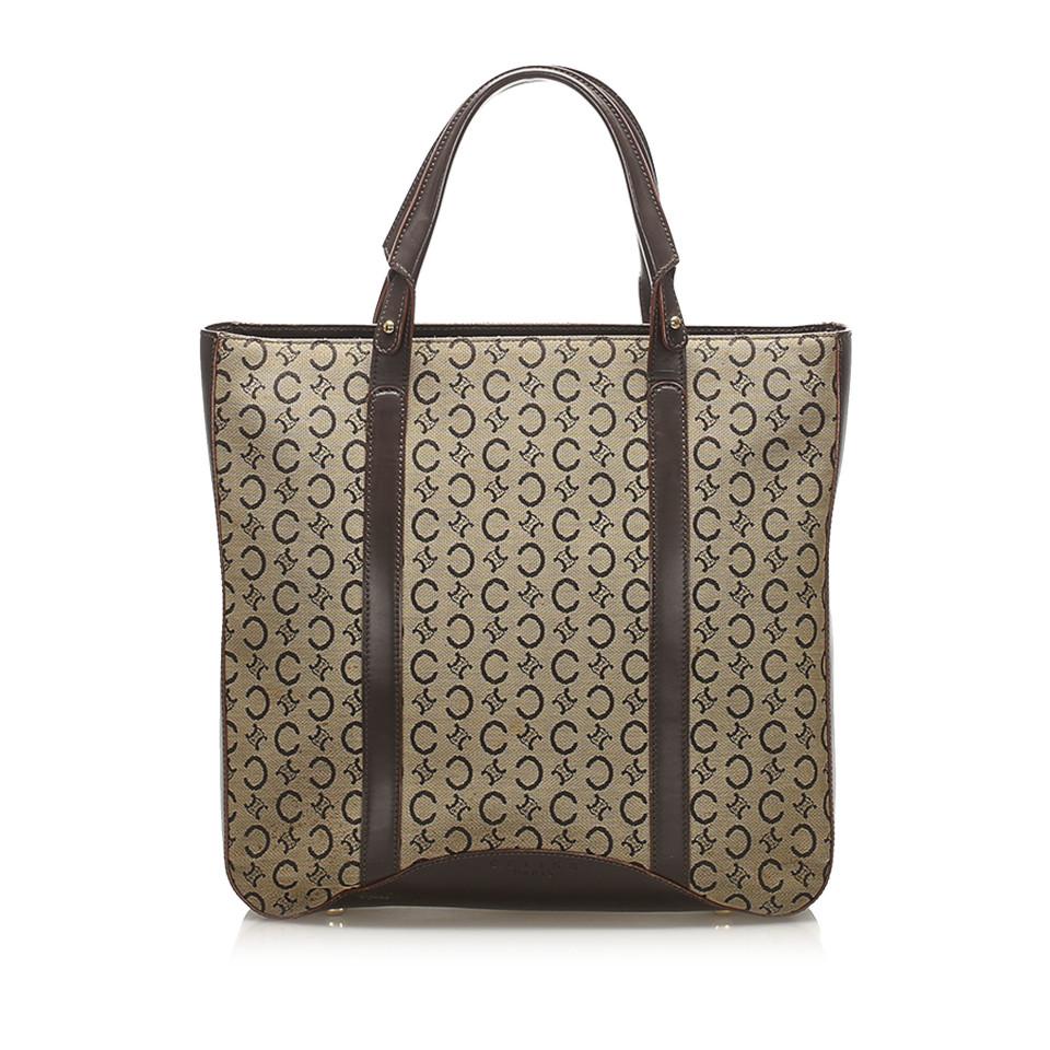 C Macadam Canvas Tote Bag