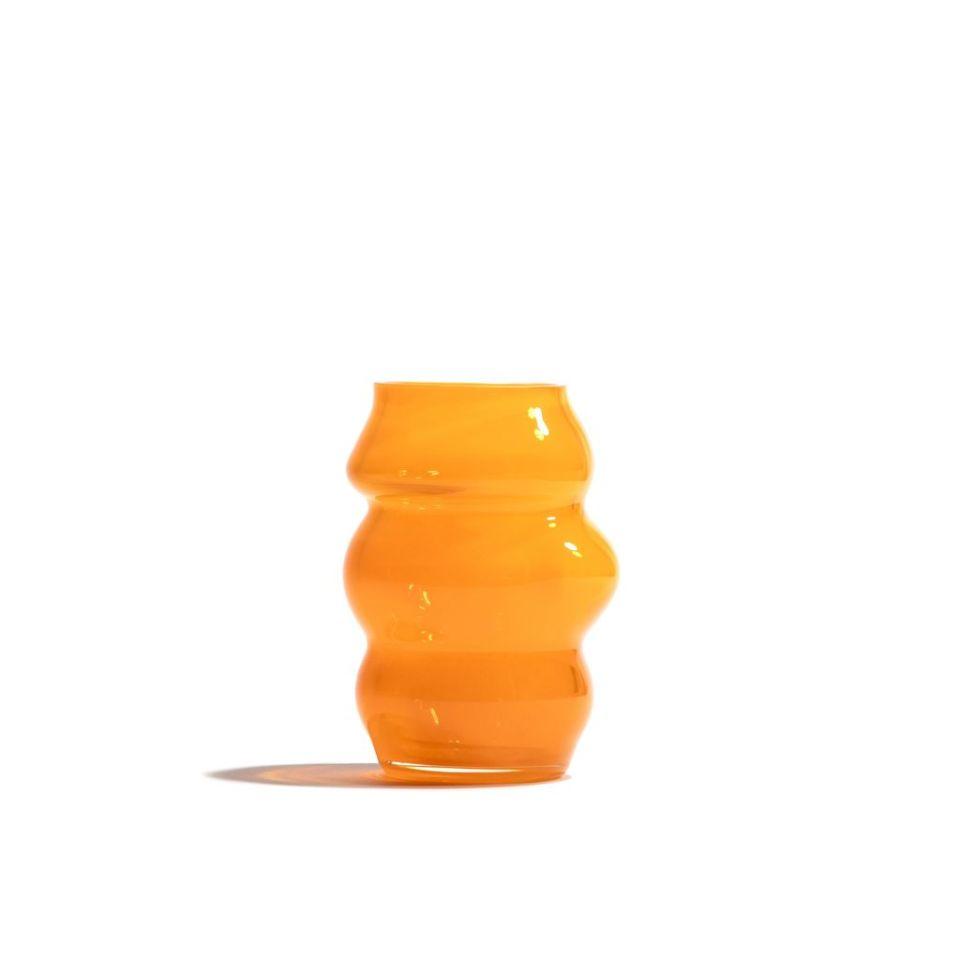 MARSANO 'Muse' Collection Vase - Fresh Orange / S