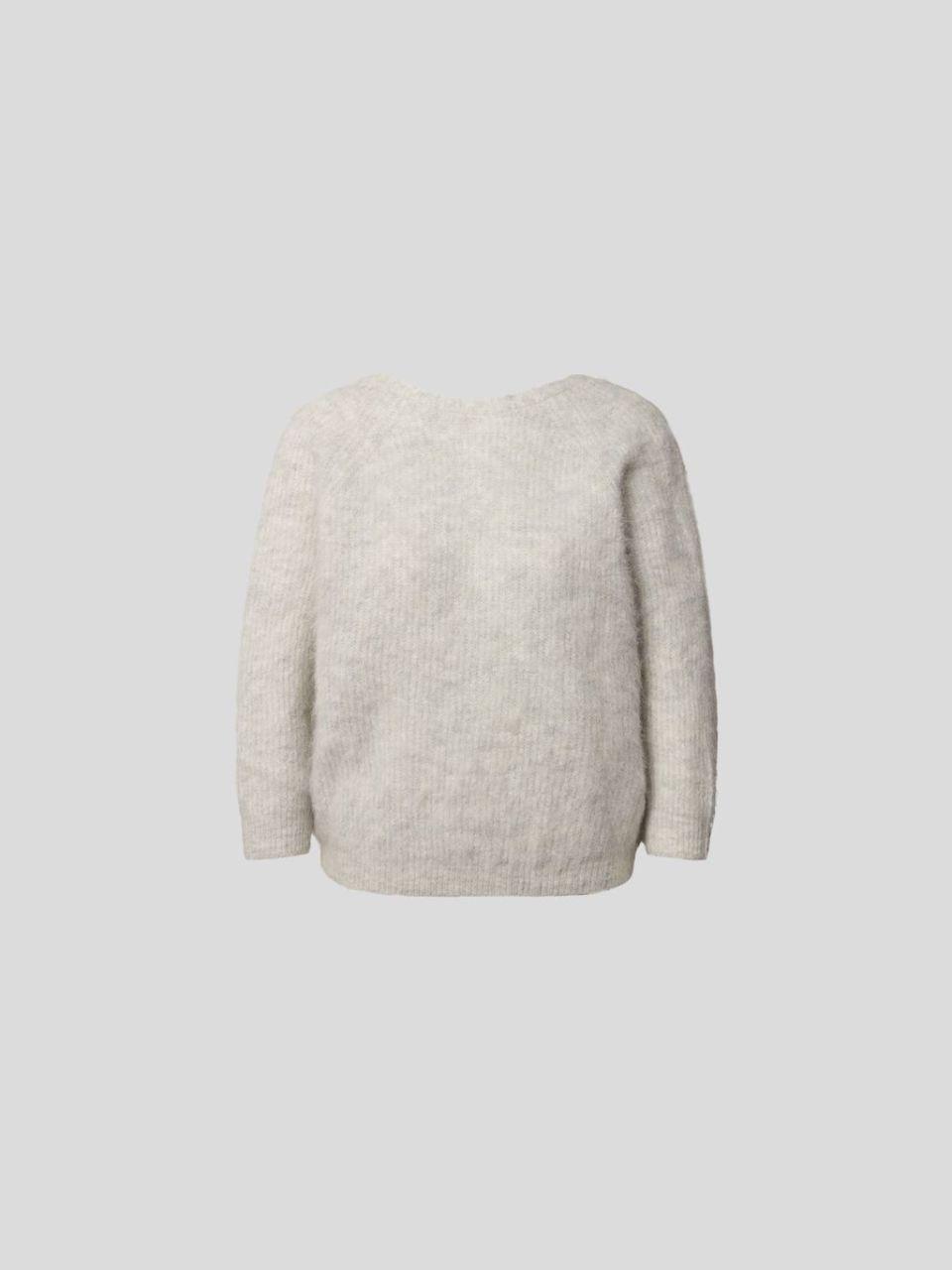 Pullover mit Wickel-Optik