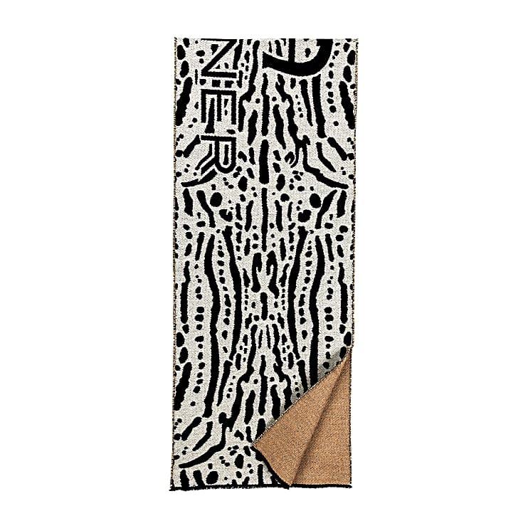 Aigner Damen Fashion Schal M, Wolle in Braun
