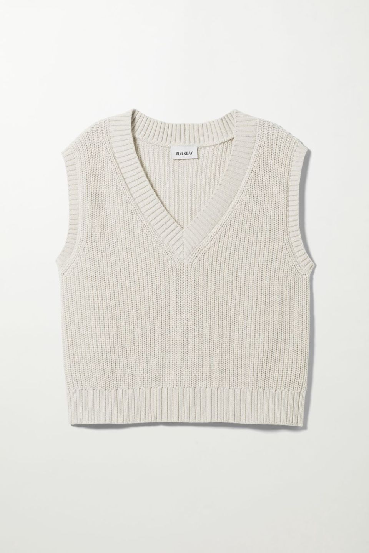 Poppy Knit Vest