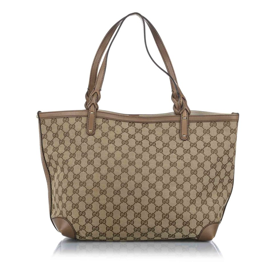 GG Canvas Craft Tote Bag