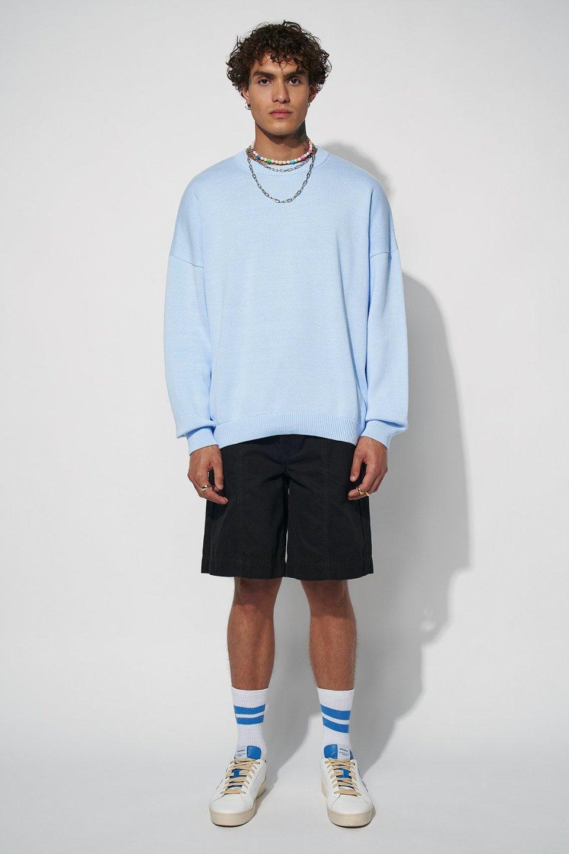 100% Organic Boxy Knitted Jumper