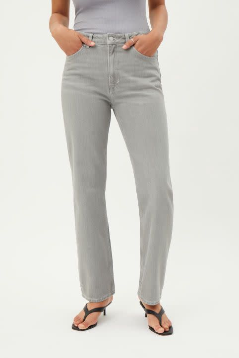 Voyage High Straight Jeans