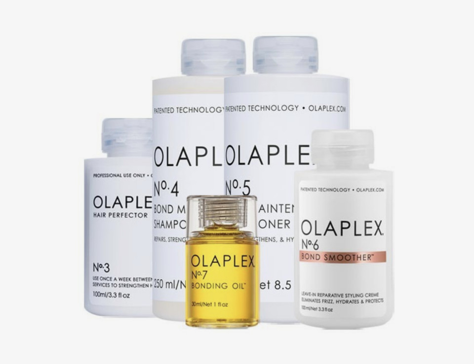 Olaplex Allround Set für reparierende Haarpflege zu Hause
