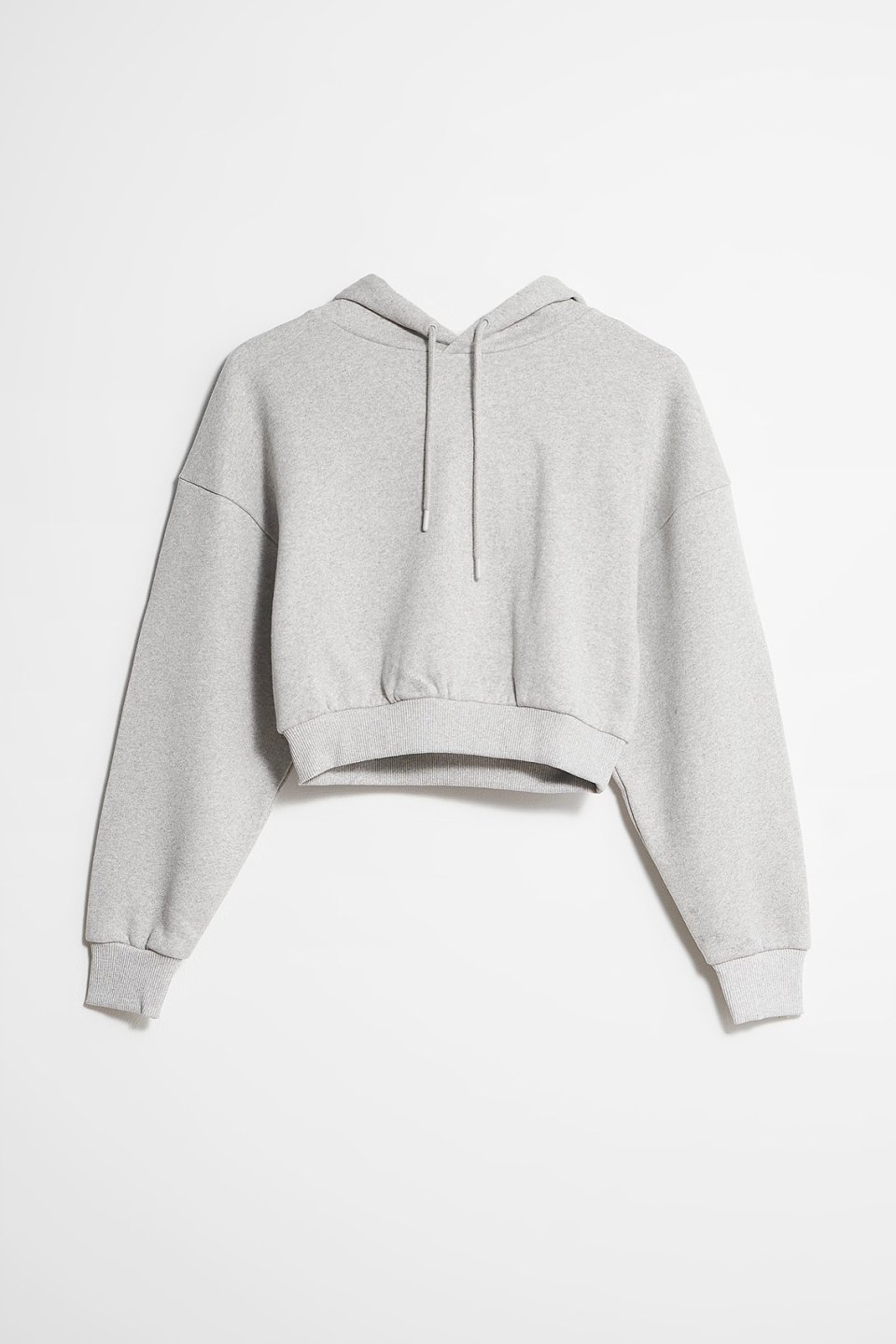 Essential Oversized Cropped Hoodie