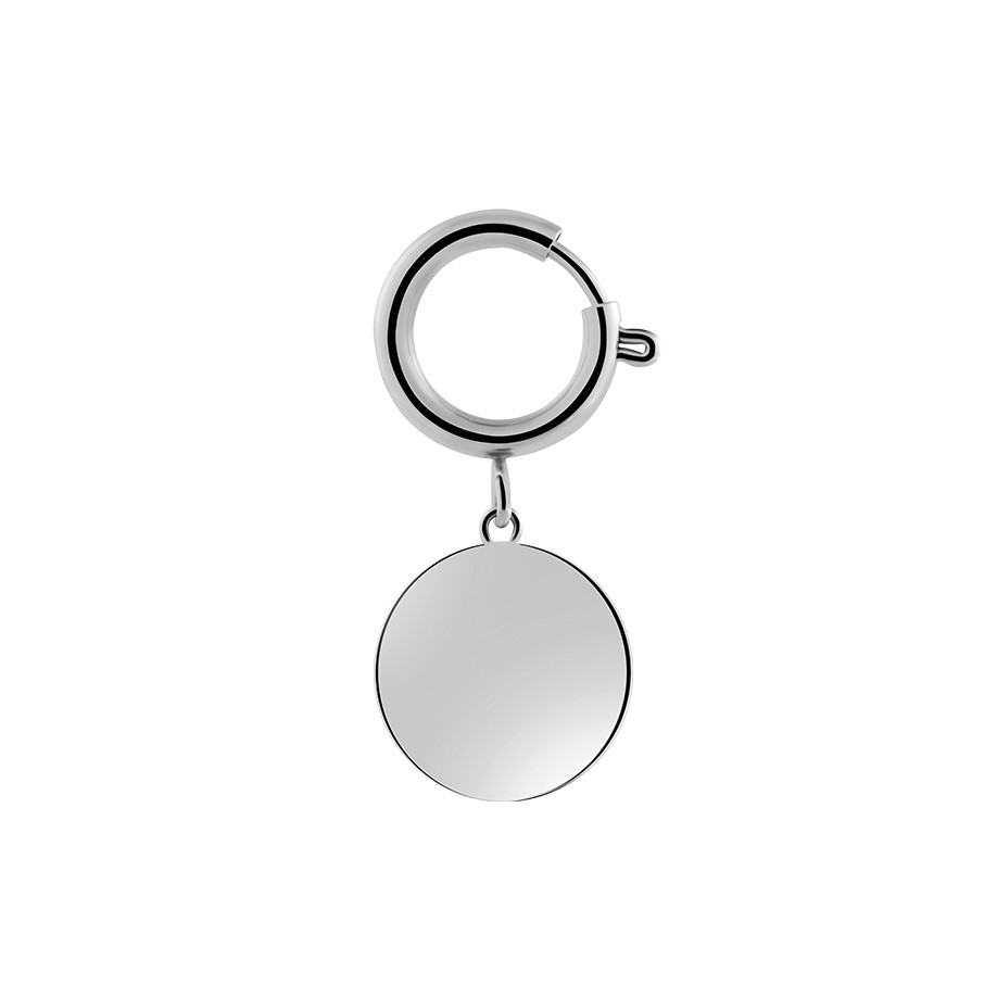 PET COIN SMALL SILBER