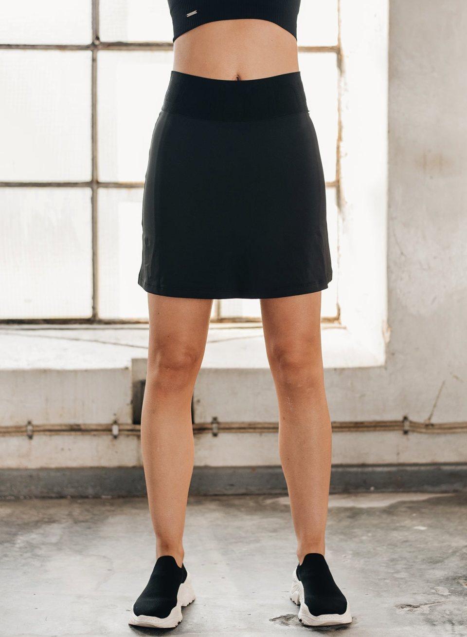 Black Tennis Air Skirt