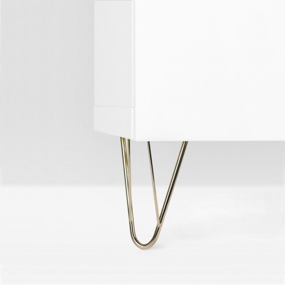 Möbelbein aus Stahl: Harald 170