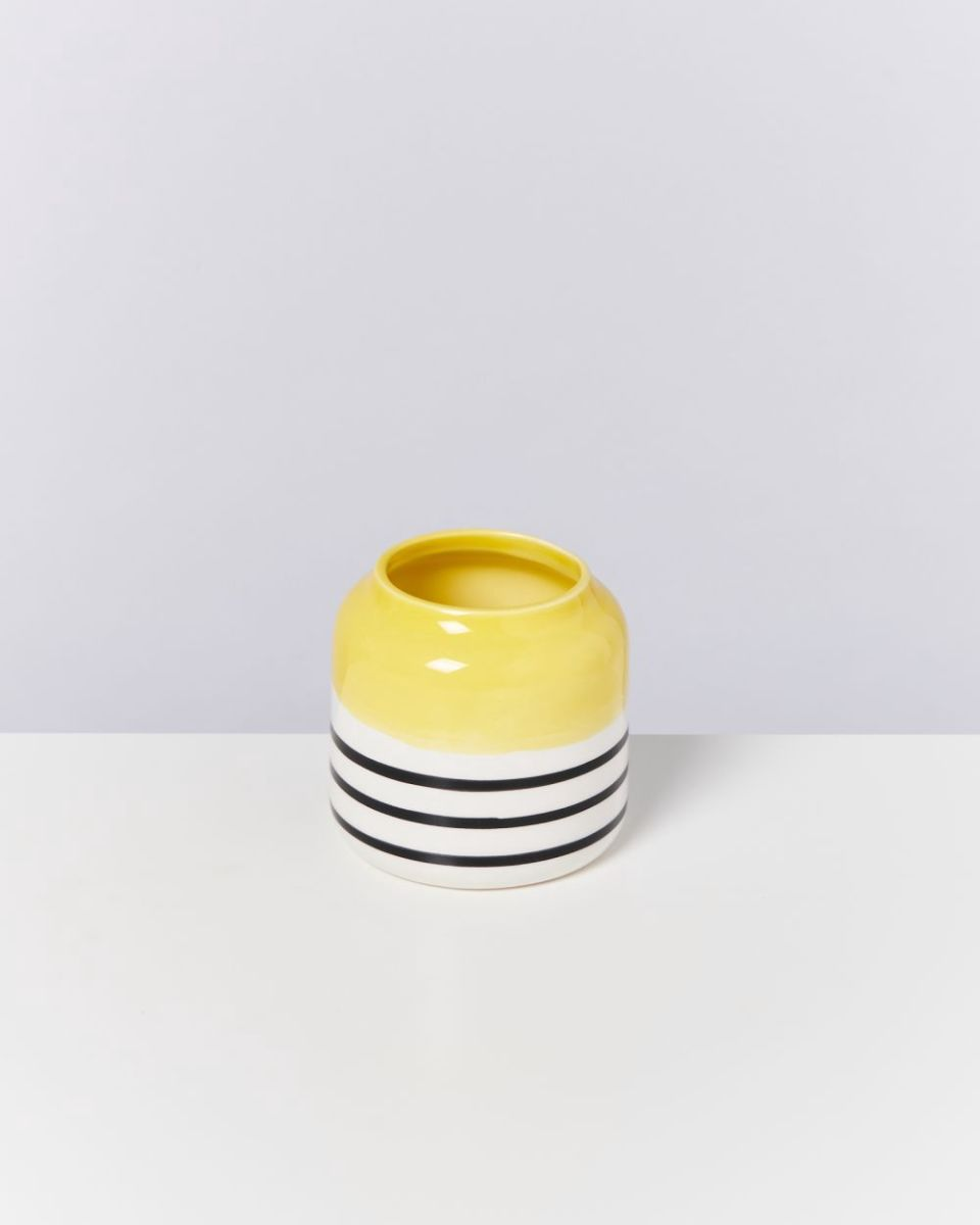 BEBÉ - yellow black striped