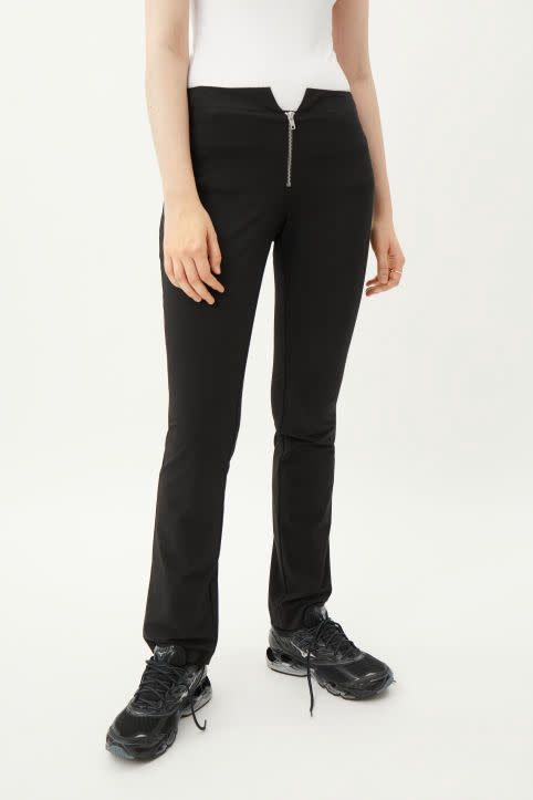 Spring Tight Front Zip Trouser
