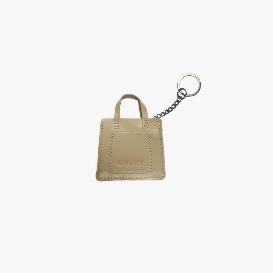 MY LOCKER BAG miniatuur met sleutelhanger