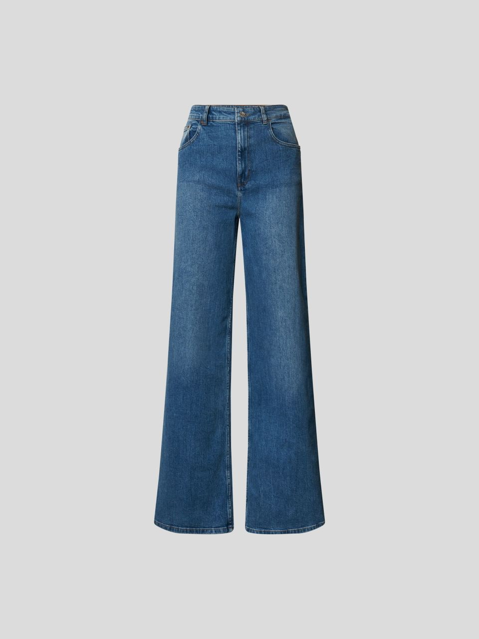 Mid Rise Jeans im Relaxed Fit