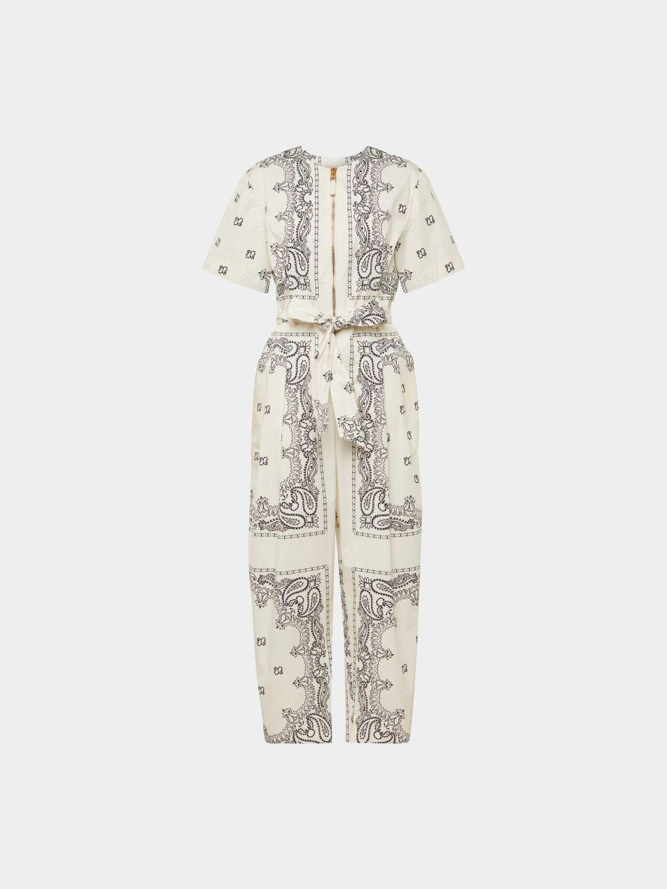 Jumpsuit mit Allover-Muster