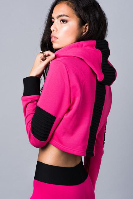 Elly Pistol: Underground Pink Hoodie