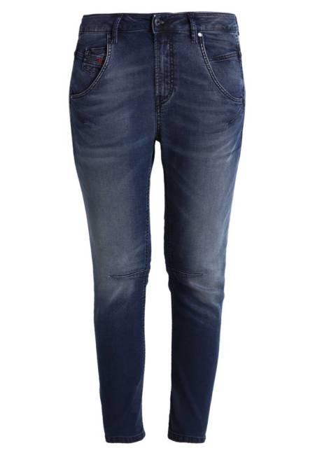Diesel: FAYZA-NE SWEAT JEANS - Jeans Relaxed Fit - 0683y