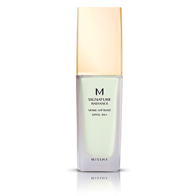 MISSHA M RADIANCE MAKEUP BASE SPF15/PA+   Farbausgleichende & perfektionierende Make-up Base
