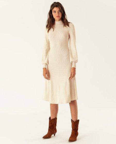 IVY & OAK: Midi Kleid gestrickt