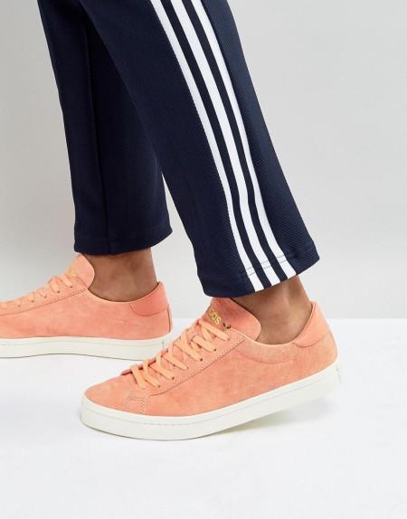 adidas Originals - Court Vantage BZ0432 - Orange Sneaker - Orange