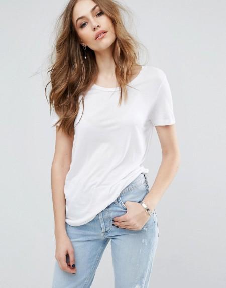 Warehouse - Klassisches T-Shirt - Weiß