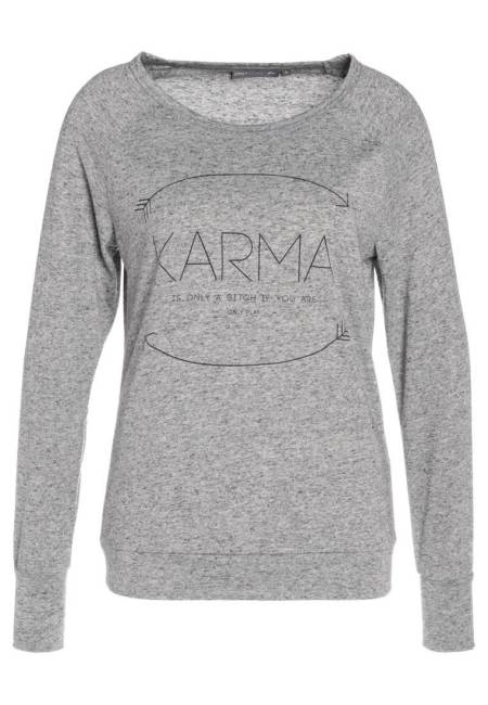 ONLY Play: ONPKARMA - Sweatshirt - medium grey melange